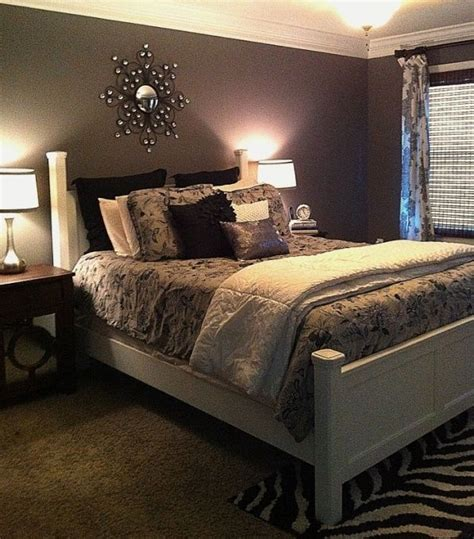 Purple Gray Bedroom by Im I Gray Black And White Together I