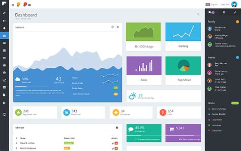 free templates for admin panel in asp net 40 best bootstrap admin templates 30 designers