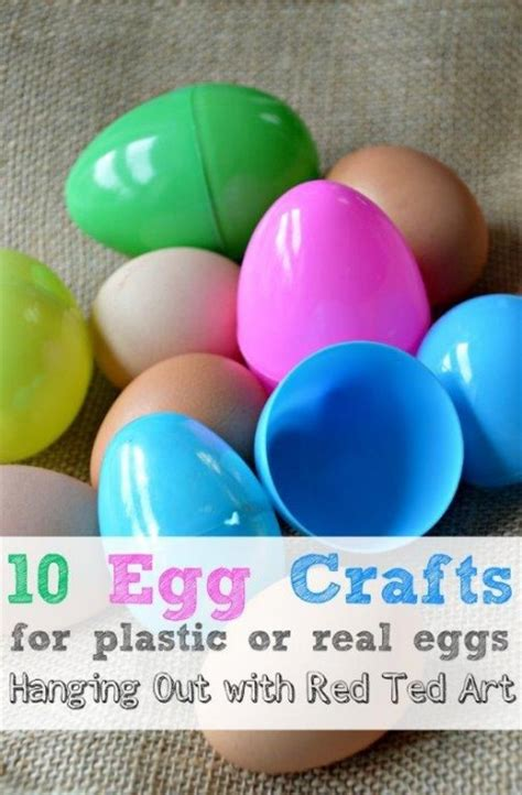 How To Make Easter Decorations For The Home by 10 Egg Craft Ideas