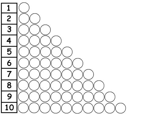 bead stair worksheets from montessori for everyone chasing bubbles short bead stair