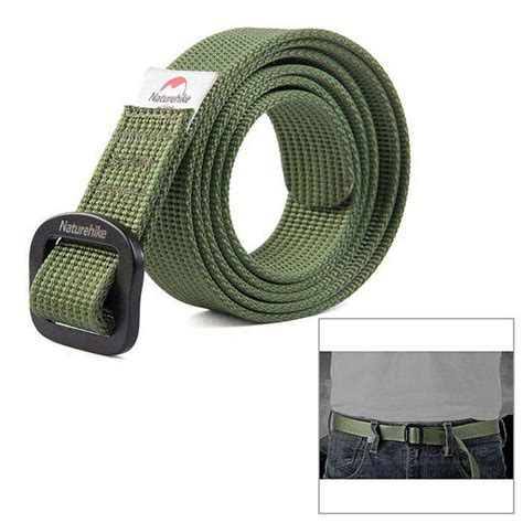 Naturehike Outdoor Belt L naturehike outdoor drying belt army green 130cm free shipping dealextreme