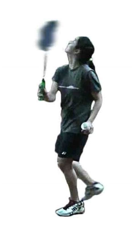 badminton swing technique badminton backhand stroke overhead