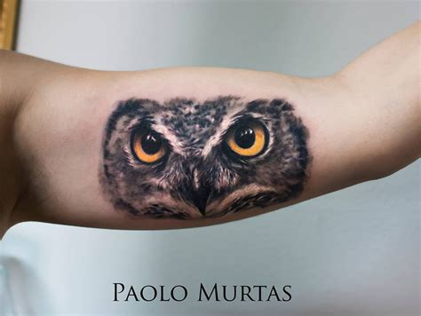 owl arm tattoo best tattoo design ideas