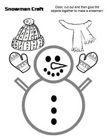 Snowman Templates To Cut Out by Snow And Snowmen Unit