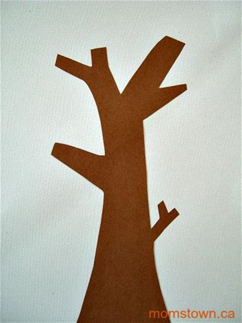 How To Make Trees Out Of Construction Paper - how to make trees out of construction paper pointilism