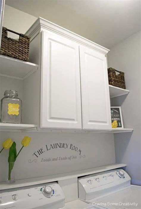 Laundry Room Wall Storage Laundry Room Makeovers Room Makeovers And Laundry Rooms On