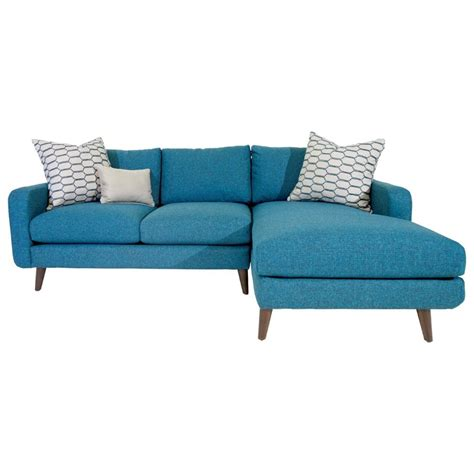 jonathan louis chaise jonathan louis leo mid century modern sectional sofa with