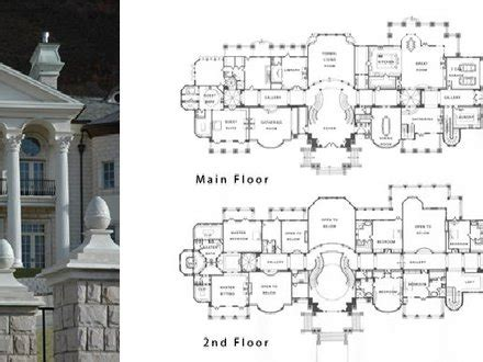 modern mansion floor plans modern mansion floor plans mega mansion floor plans log