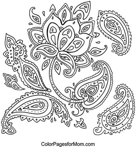 free paisley coloring pages 421 best images about mandala on