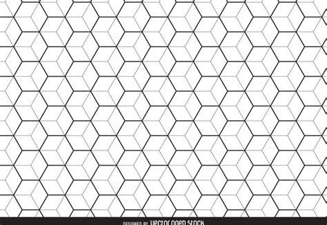 Hexagonal Pattern Stock Vector | linear hexagon pattern background free vector download