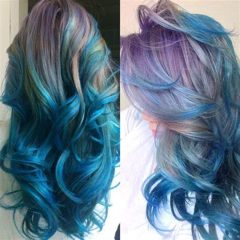 images of color brillance hair color 7cv mermaid hair products used on pre bleached hair ion