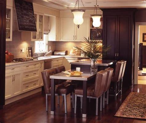 foncer en cuisine photos cuisines de style bistro maison et demeure