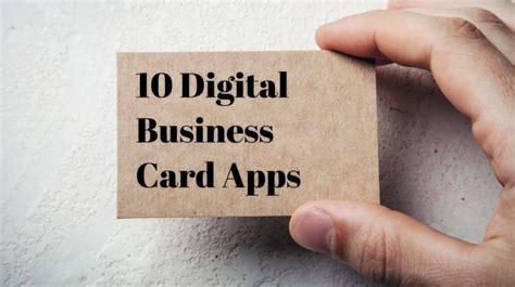 Digital Business Card App