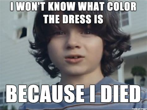Meme Dress - stop pretending like you don t care about the dress color