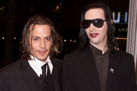 johnny depp marilyn manson tattoo johnny depp and marilyn manson have matching friendship