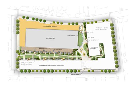 residential site plan commercial residential site plan daniel dell archinect