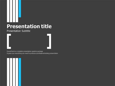 Simple Ppt Template Goodpello Simple Business Template Powerpoint