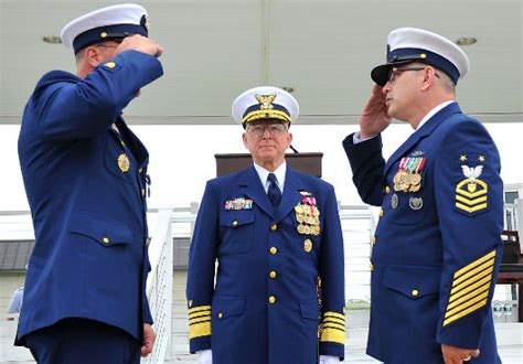 us coast guard welcomes new master chief petty officer
