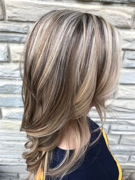 photos of colored hair with high lights of gray trendy hair highlights blonde highlights and light brown