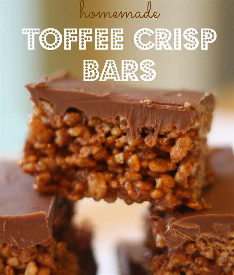 Handmade Toffee - toffee crisp bars mummy mishaps