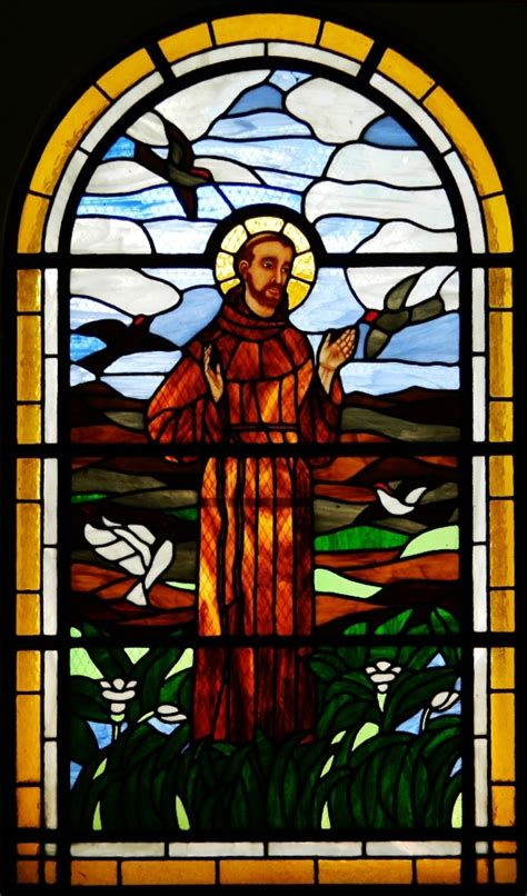stained glass windows st francis of assisi new orleans la file saint francis of assisi church chilpancingo de los