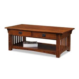 Mission Coffee Table Leick 8204 Mission Impeccable Storage Coffee Table With