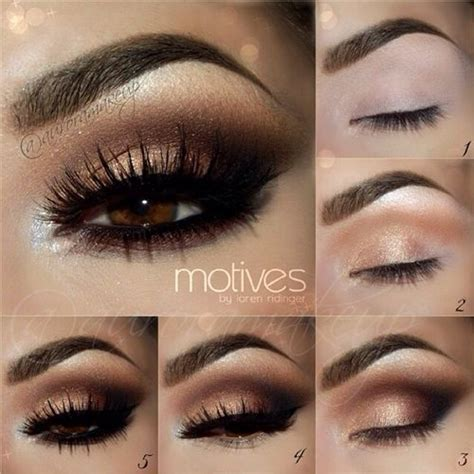 Eyeshadow Brown 25 best ideas about brown smokey eye on brown