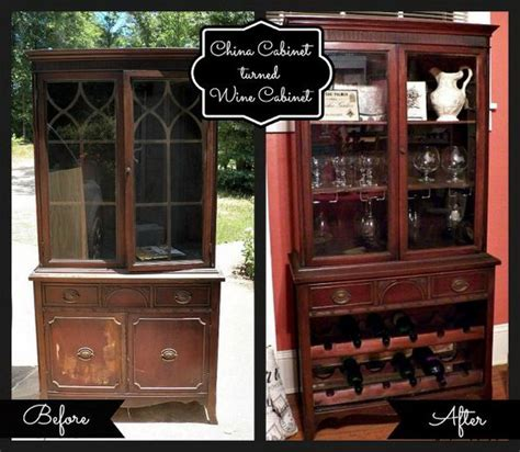 Diy Bar Cabinet 15 Cool And Budget Diy Wine Bars 2017