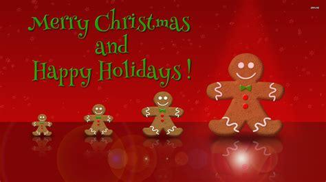 christmas wallpaper gingerbread gingerbread men wallpaper holiday wallpapers 1083