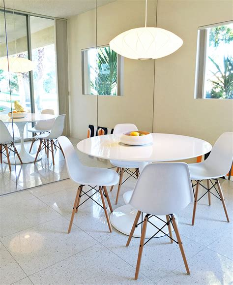 this bright midcentury dining room decor in just 3 steps