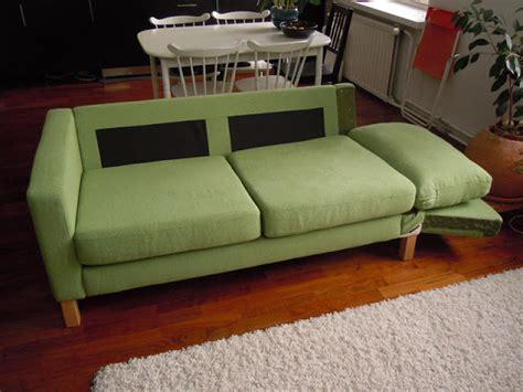 Sofa Hacks by Karlstad Sofa Becomes A Karlstad Sofa Bed