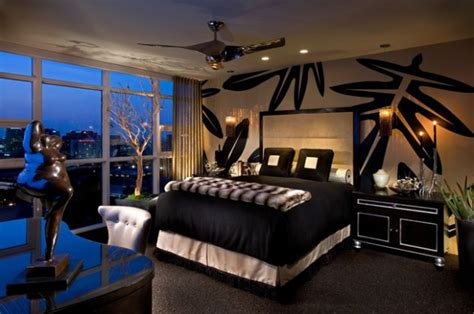 elegant black  white bedroom design ideas style motivation