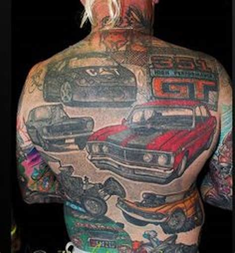 automotive tattoo car tattoos 30 totally epic car ideas