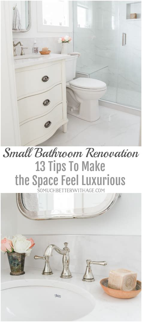 How Much To Build A Bathroom - small bathroom renovation and 13 tips to make it feel