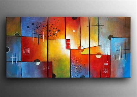 Alas Foto Motif Wall 50cm X 100cm Lebih Besar Dari A2 A1 moderne abstracte kunst 3 luik schilderij 013 100 kwaliteit