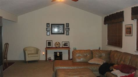 color ideas  huge beige couch  long dull