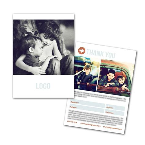 photography referral card templates 13 best images about referal on shops church