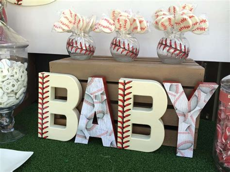 Baseball Baby Shower Decoration Ideas by Classic Baseball Baby Shower Baby Shower Ideas Themes