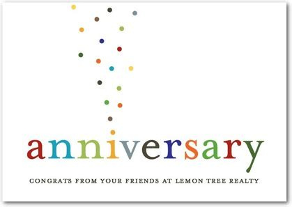 corporate magic anniversary business anniversary cards