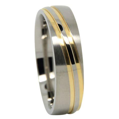 Wedding Ring Wave Design by Gold Wave Design S Titanium Wedding Ring