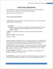 farm lease agreement template land lease agreement template for word document hub
