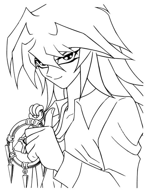 coloring page yu gi oh coloring pages 88