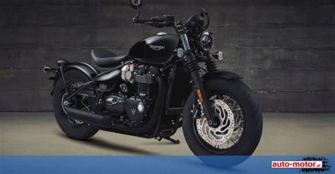 Motoräder Triumph by Triumph Pr 228 Sentiert Zwei Neue Bonneville Modelle Auto