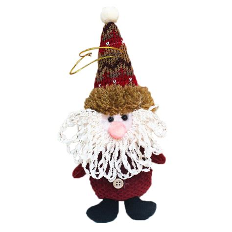 new hang hanging christmas decorations doll elk xmas tree