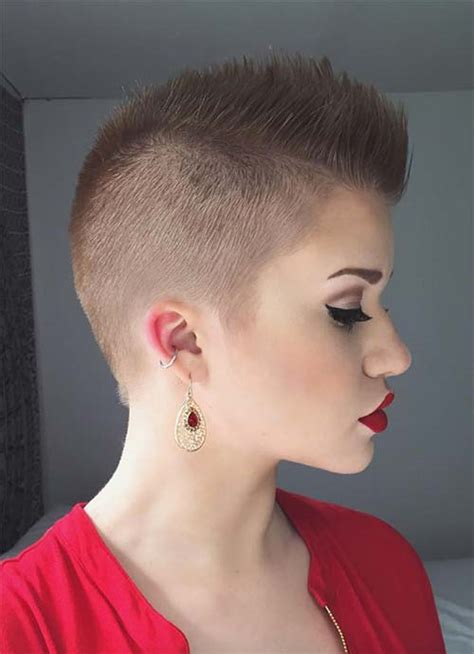 women getting hair buzzed and shaved 100 short hairstyles for women pixie bob undercut hair