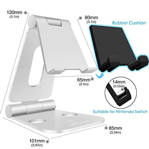 Nintendo Switch Airform With Holder Grey Berkualitas cell phone tablet stand lamicall multi angle stand dock for nintendo switch iphone