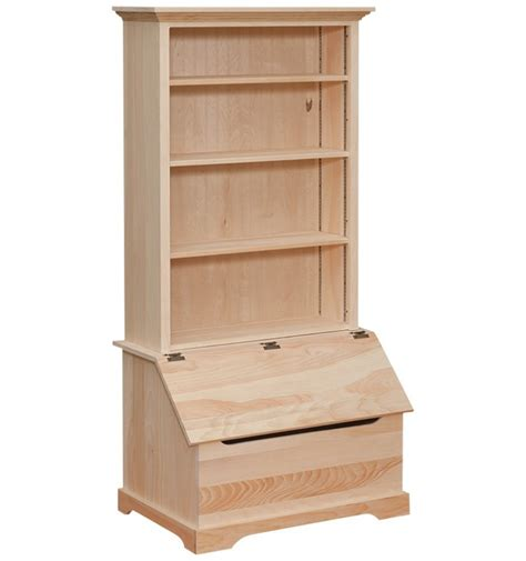 bookshelf slanted front storage box wood n things