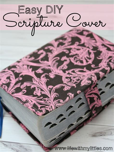upholstery bible complete step by step scripture cover tutorial life with my littles