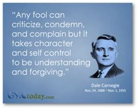 abraham lincoln biography by dale carnegie quot any fool can criticize condemn and complain but it