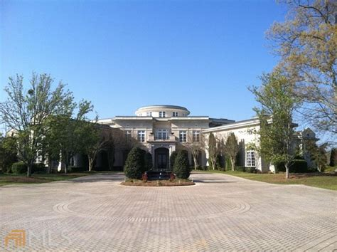 Holyfield House by Evander Holyfield S Mansion Back On The Market Pricey Pads